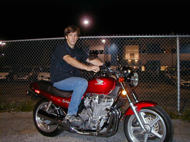 Ken on his 1991 Honda Nighthawk 750